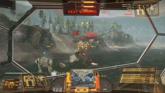 MechWarrior Online Battle