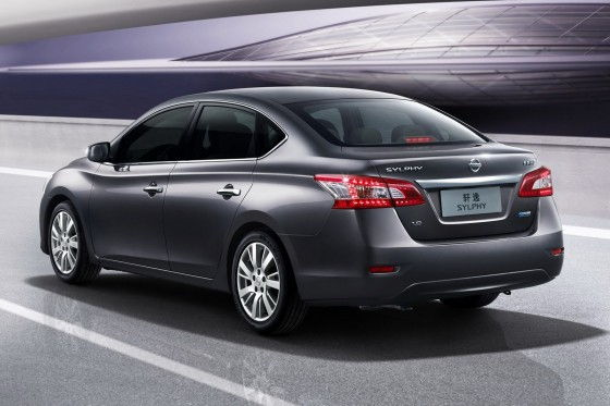 2013 Nissan Sylphy will be Sentra in North America