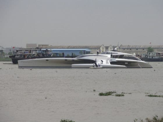 Adastra Yacht launched in China