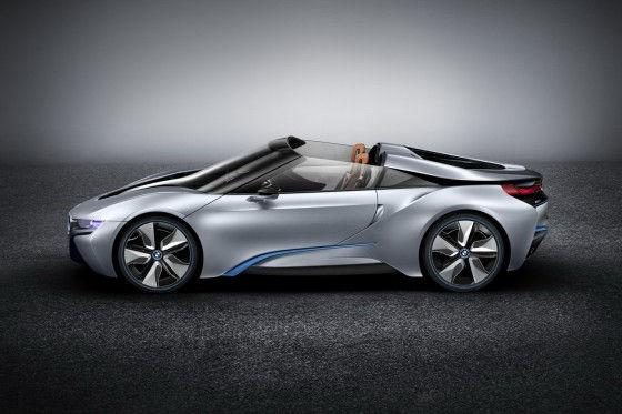 BMW i8 Spyder Concept hybrid sports car