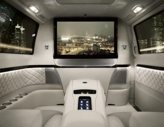 Passenger compartment Viano Vision Van