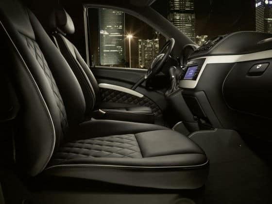 Drivers interior of Viano Vision Diamond