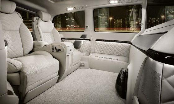 Passenger side interior Viano Vision Diamond
