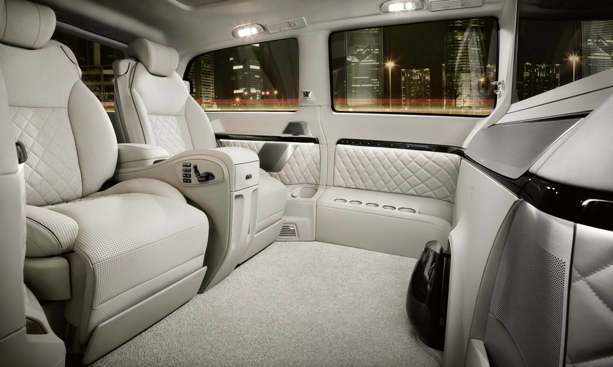 Mercedes-Benz Unveils Viano Vision Diamond - Unfinished