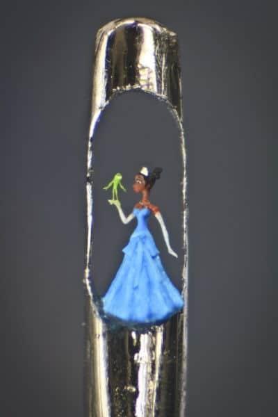 willard wigan - micro art in the eye of a needle