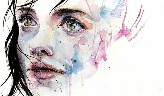 Agnes-Cecile Painting
