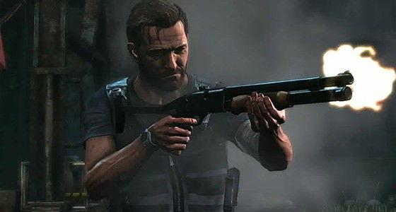 Max Payne shooting