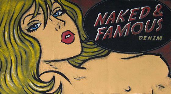 Naked & Famous Denim Logo