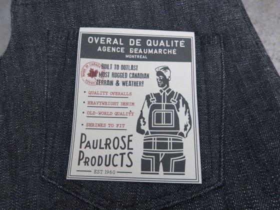 Paulrose label