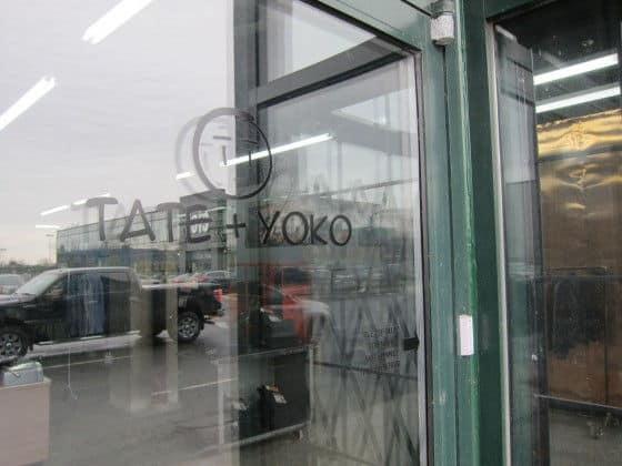 outside Tate + Toko