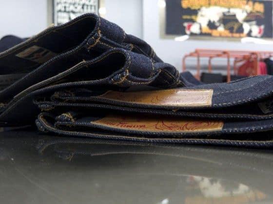 jeans side shot