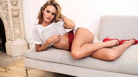 Candice Swanepoel nipple