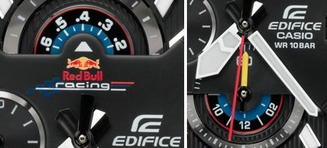 Limited edition Casio Edifice Red Bull Racing Watch