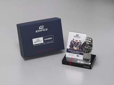 Casio Edifice Red Bull Racing Display box