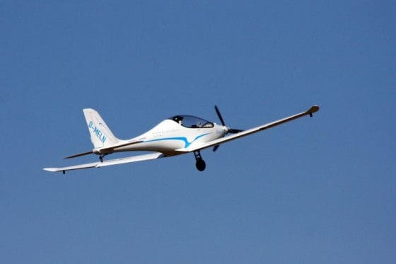 All electric airplane by PC-Aero
