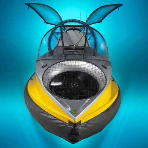 flying boat with wings