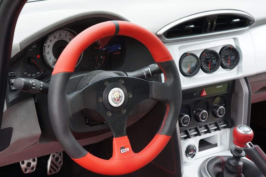 Gazoo Racing tuned Toyota GT86
