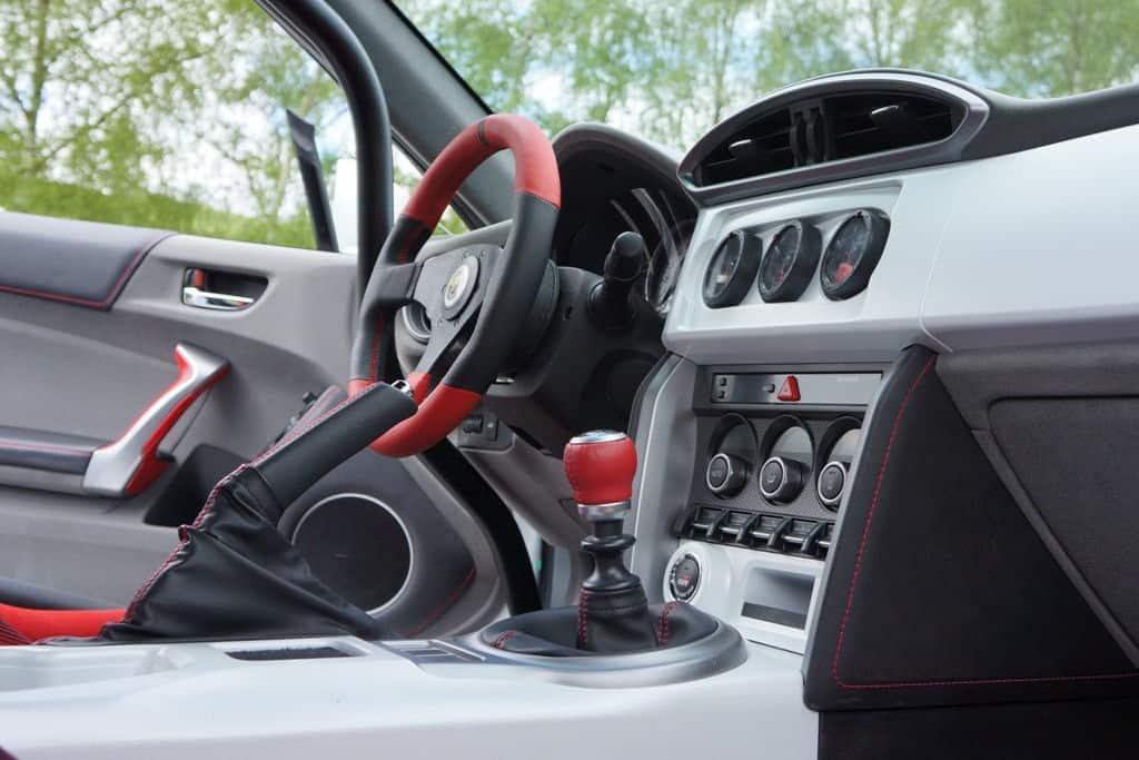 Gazoo Racing tuned Toyota GT86 Interior