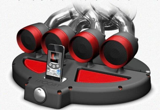 Exhuast Manifold iPod iPhone docking station