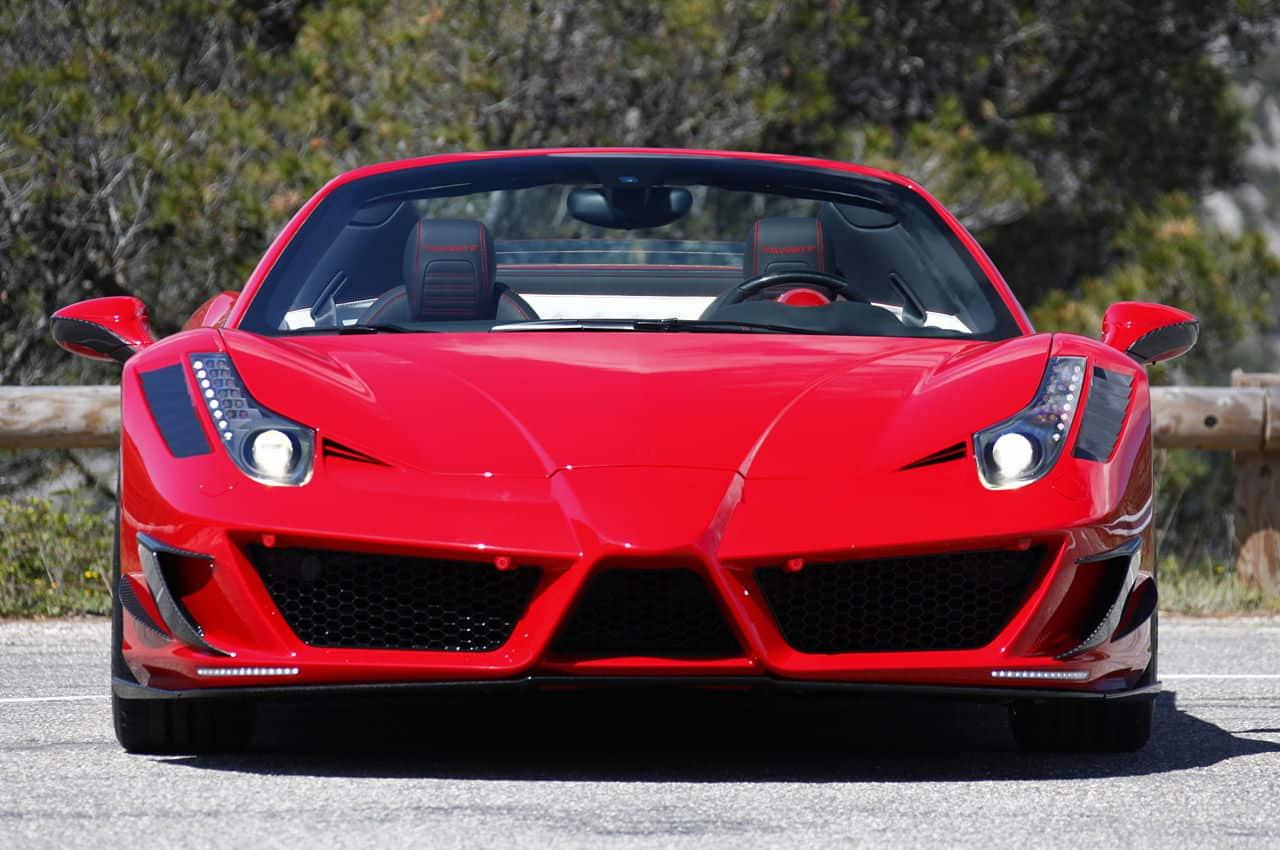 Ferrari 458 Itlia tuned to look like Enzo