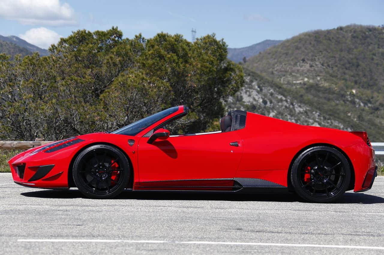 Mansory Ferrari 458 Italia Spider