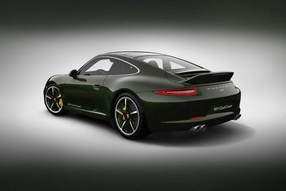 Porsche 911 exclusively for Porsche club members