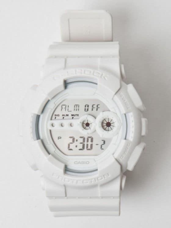 Casio G-Shock GD-100WW-7 White