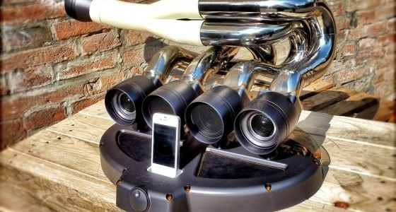 iXoost Exhaust Manifold Docking Station