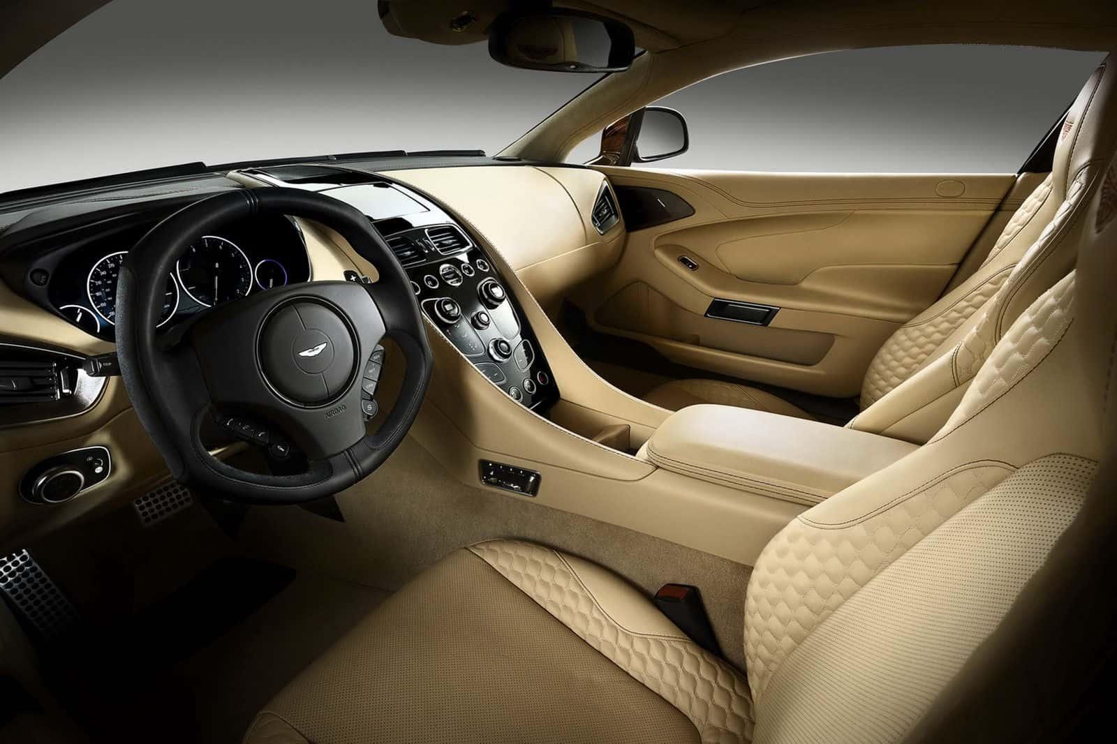 2013 Aston Martin Vanquish Mk2 interior pictures