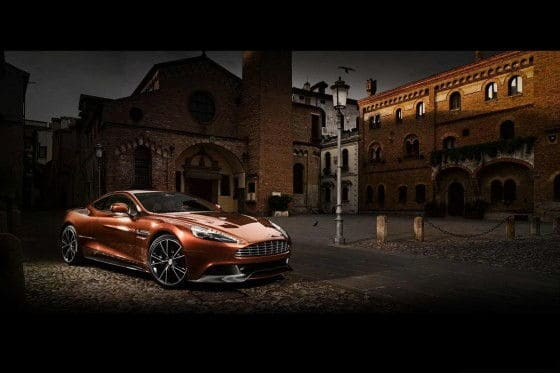 Aston Martin DBS replacement Vanquish