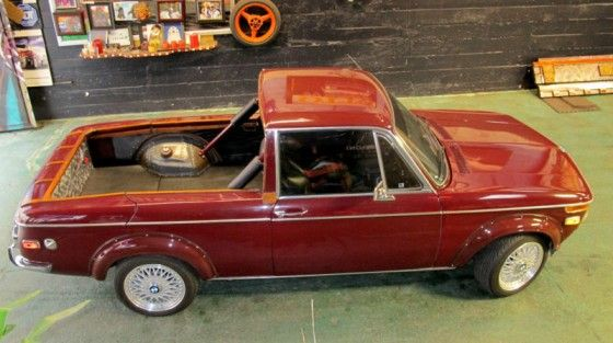 BMW 1600 converted into truck