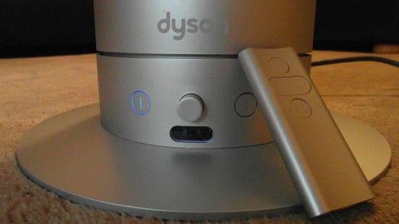 Dyson fan buttons