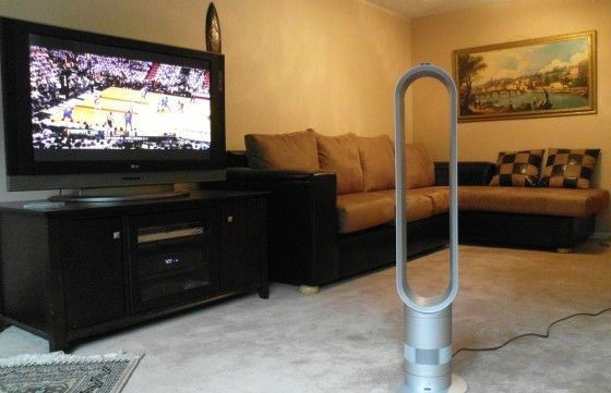 Dyson air multiplier silver review