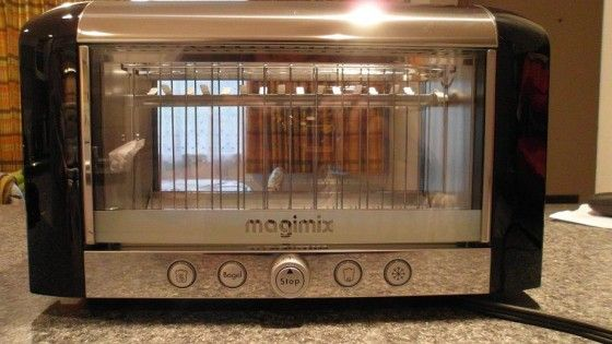 See Through Vision Toaster by Magimix