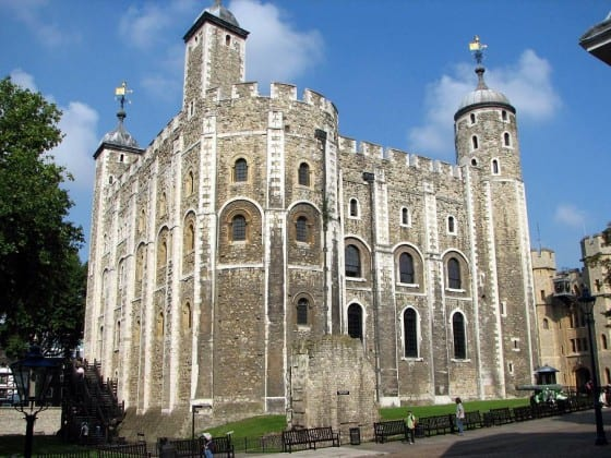 London's oldest building the Tower of London