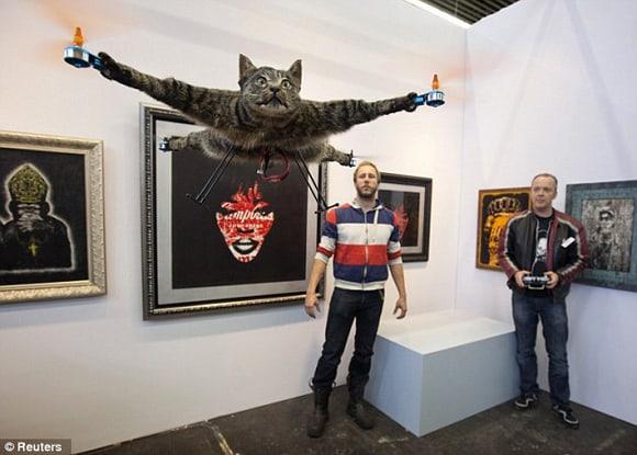 orvillecopter flying dead cat quadrotor bart jensen