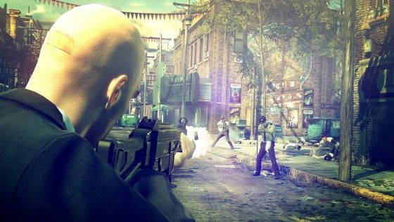 Agent 47 shooting