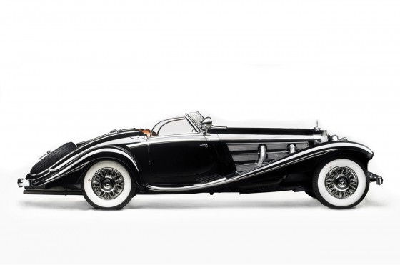 1936 Mercedes Benz 540 K Von Krieger Special Roadster Unfinished