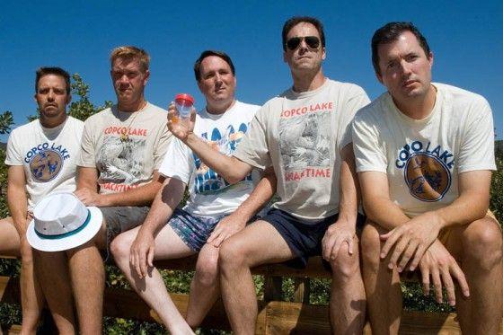 25 year reunion at Copco Lake