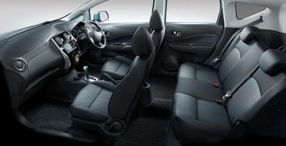 Cabin of 2013 Nissan Note