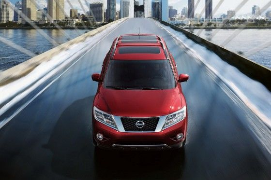 All-New 2013 Nissan Pathfinder crossover