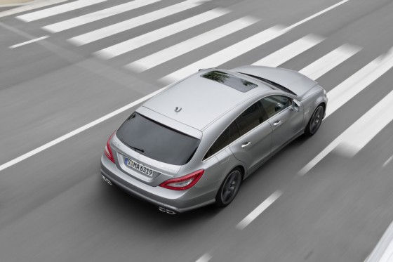 All-new CLS 63 AMG Shooting Brake