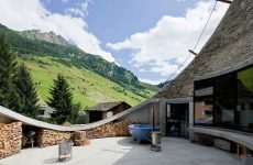 View from Villa Vals