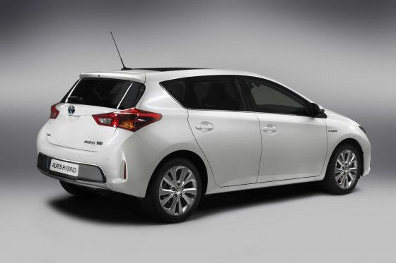 Taillights of 2013 Toyota Auris