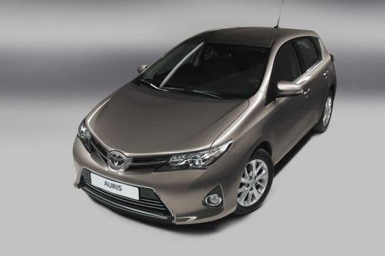 All-new Toyota Auris C-Segment car