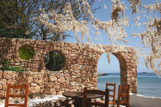 Ibiza Spain romantic beachfront restaurant