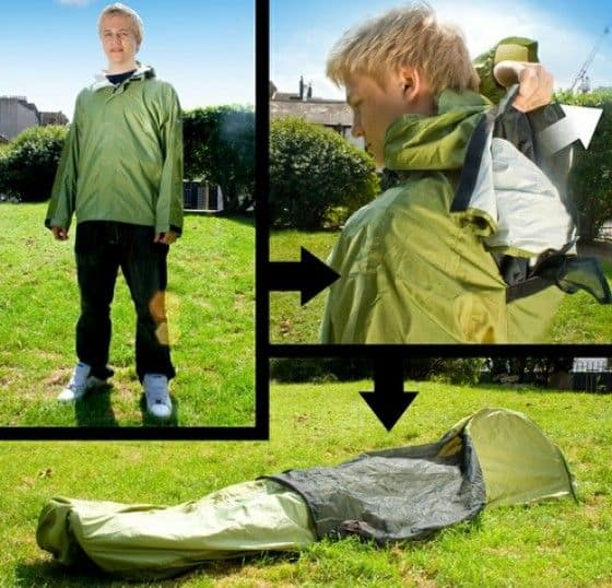 Save  sc 1 st  Unfinished Man & 3-In-1 JakPak - A Jacket Tent and Sleeping Bag - Unfinished Man