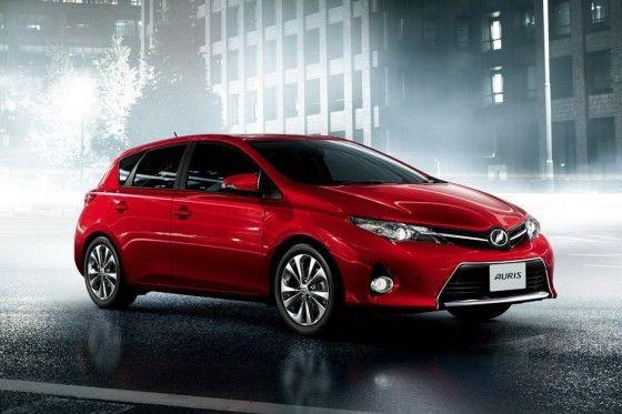 Newly designed Toyota Auris