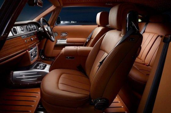 Rolls Royce Phantom Coupe Aviator interior