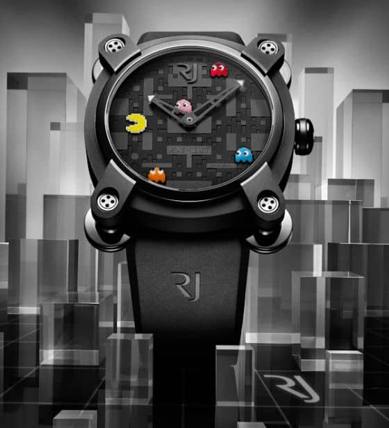 limited edition Romain Jerome PAC-MAN watches